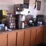 Mill Dam rest inside coffee