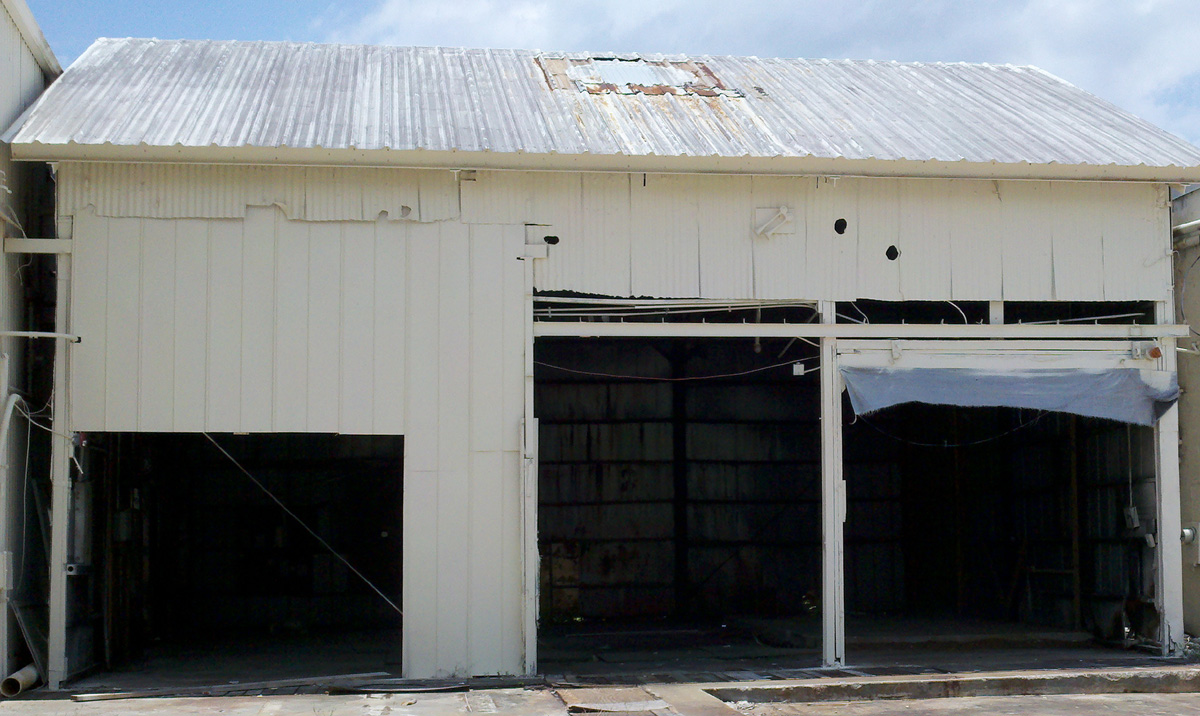 Commercial rentals for 4000 sq ft steel building